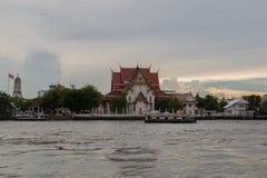 Wat Rakhang Khositaram (висок колоколов), Бангкок Стоковое Фото