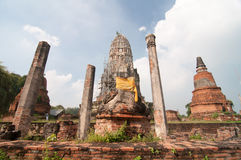Wat Rat Burana. Ancient Ayutthaya period.Thailand Stock Photos