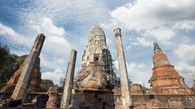 Wat Rat Burana-Kerker prang stock video footage