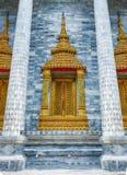 Wat Rat Pradit är gränsmärket i Thailand Royaltyfria Foton