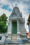 Wat Rat Pradit är gränsmärket i Thailand Arkivbild