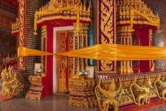Wat Rat Upatham Wat Bang Riang Royaltyfri Fotografi
