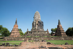 Wat Ratburana Imagenes de archivo