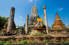 Wat Ratburana, Ayutthaya, Thailand Stock Image