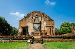 Wat Ratburana, Ayutthaya, Thailand arkivfoto