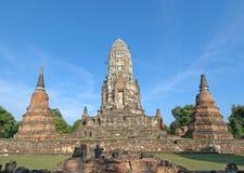 Wat Ratburana, Ayutthaya, Thailand Royalty-vrije Stock Foto