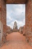Wat Ratburana in Ayutthaya, Thailand. Stock Photos