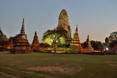 Wat Ratcha Burana. Panorama Wat Ratcha Burana in Ayutthaya (Thailand Royalty Free Stock Photo