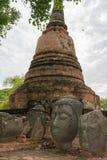 Wat Ratcha Burana. In Ayutthaya, Thailand Royalty Free Stock Photos
