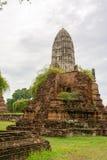 Wat Ratcha Burana. In Ayutthaya, Thailand Stock Images