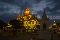 Wat Ratcha Nadda. 's most important Buddhist temple in Thailand Stock Image