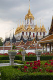 Wat Ratcha Nadda. 's most important Buddhist temple in Thailand Stock Images