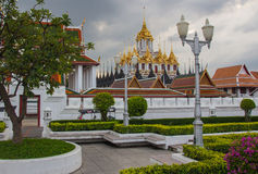 Wat Ratcha Nadda. 's most important Buddhist temple in Thailand Stock Photos