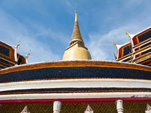 Wat Ratchabophit in Bangkok , Thailand Royalty Free Stock Photo