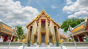 Wat Ratchabophit Sathit Mahasimaram Ratchaworawihan Ancient temples, beautiful architecture and art of Siam stock video