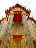 Wat Ratchabophit temple in Bangkok , Thailand Royalty Free Stock Image