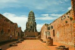 Wat ratchaburana Stock Image