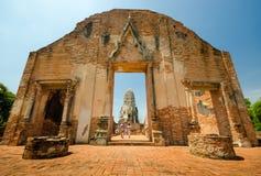 Wat Ratchaburana Стоковая Фотография RF