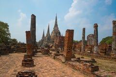 Wat Ratchaburana Стоковые Изображения RF