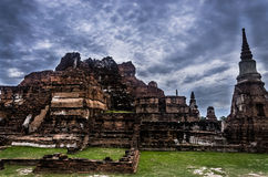 Wat Ratchaburana, Ayutthaya, Tailândia, 3Sudeste Asiático fotografia de stock