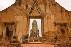 Wat Ratchaburana in Ayutthaya, Thailand Royalty Free Stock Photos