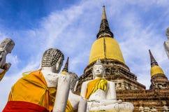 Wat Ratchaburana, Ayutthaya, Thailand, Zuidoost-Azië stock afbeelding