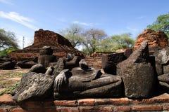 Wat Ratchaburana dans Ayutthaya, Thaïlande Image libre de droits