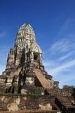 Wat Ratchaburana em Ayutthaya, Tailândia Foto de Stock Royalty Free