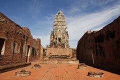 Wat Ratchaburana en Ayutthaya, Tailandia Foto de archivo