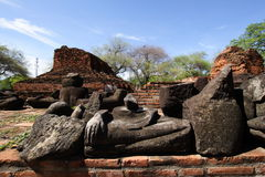 Wat Ratchaburana en Ayutthaya, Tailandia Imagen de archivo libre de regalías