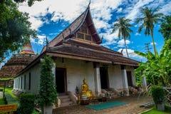 Wat Ratchaburana Phitsanulok Fotografie Stock