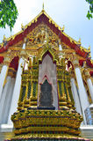 Wat Ratchaburana Ratchaworawihan στη Μπανγκόκ Στοκ φωτογραφία με δικαίωμα ελεύθερης χρήσης