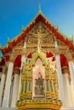 Wat Ratchaburana Ratchaworawihan 免版税库存照片