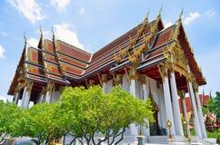 Wat Ratchaburana Ratchaworawihan in Bangkok stockfotos