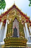 Wat Ratchaburana Ratchaworawihan in Bangkok lizenzfreie stockfotografie