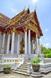 Wat Ratchaburana Ratchaworawihan w Bangkok Fotografia Stock