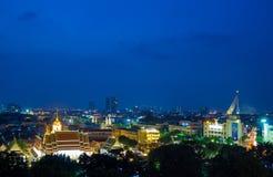 Wat Ratchanadda en Bangkok Fotografía de archivo