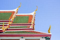 Wat Ratchanadda i Bangkok, Thailand Royaltyfri Bild