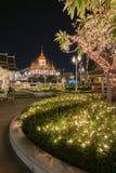 Wat Ratchanadda landmark in Bangkok Thailand Royalty Free Stock Photography