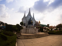 Wat Ratchanadda, Loha Prasat, Traditional Thai Royalty Free Stock Photos