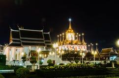 Wat Ratchanaddaram Стоковое Изображение RF