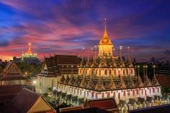 Wat Ratchanaddaram Stockfoto