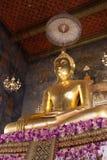 Wat Ratchanaddaram Boedha Stock Afbeelding