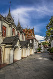 Wat Ratchanaddaram and Loha Prasat Metal Palace in Bangkok ,Thai Stock Photos