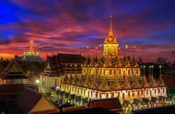 Wat Ratchanaddaram Royalty Free Stock Photography