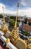 Wat Ratchanaddaram and Loha Prasat Metal Palace   Stock Photo