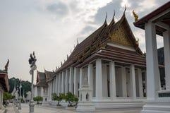 Wat Ratchanaddaram and Loha Prasat Metal Palace Stock Images