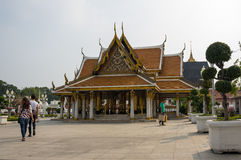Wat Ratchanaddaram and Loha Prasat Metal Palace Royalty Free Stock Photos