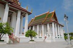 Wat Ratchanaddaram Monastery at Bangkok, Thailand. Stock Images