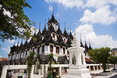 Wat Ratchanaddaram, Thaïlande Photographie stock